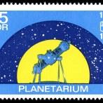 Jena, Zeiss-Planetarium, DDR-Sondermarke, 1972 (Scan: Nightflyer, gemeinfrei, via wikimedia commons)