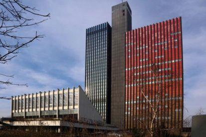 Bunt und verlassen: die Deutsche Welle in Köln (Bild: Uta Winterhager)