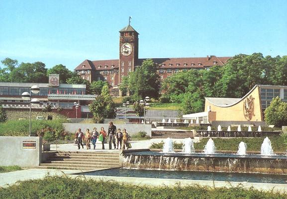 Potsdam, Brauhausberg (Bild: historische Postkarte)