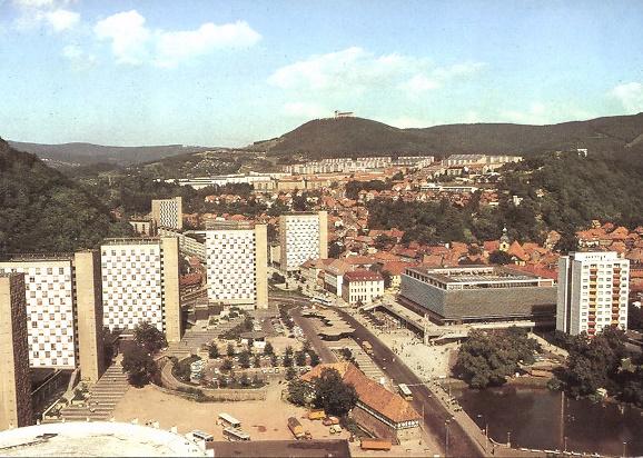 Suhl (Bild: historische Postkarte, Bild und Heimat, Reichenbach/Vogtland)