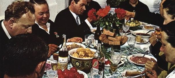 Die russische Seele beim Essen (Bild: Time Life)