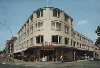 Uelzen, Kaufhaus Röll (Bild: historische Postkarte, 1970)