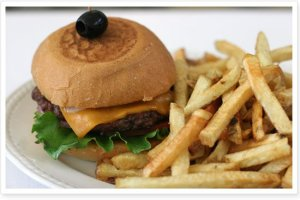 modern burger