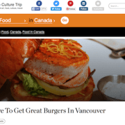 Where To Get Great Burgers In Vancouver