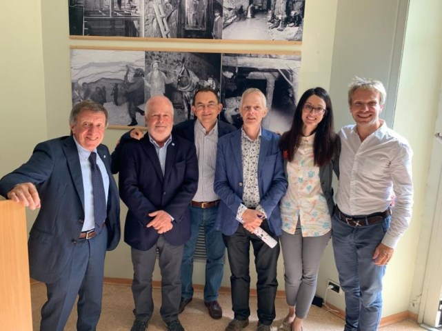 Modernet members at meeting in Milano 2019