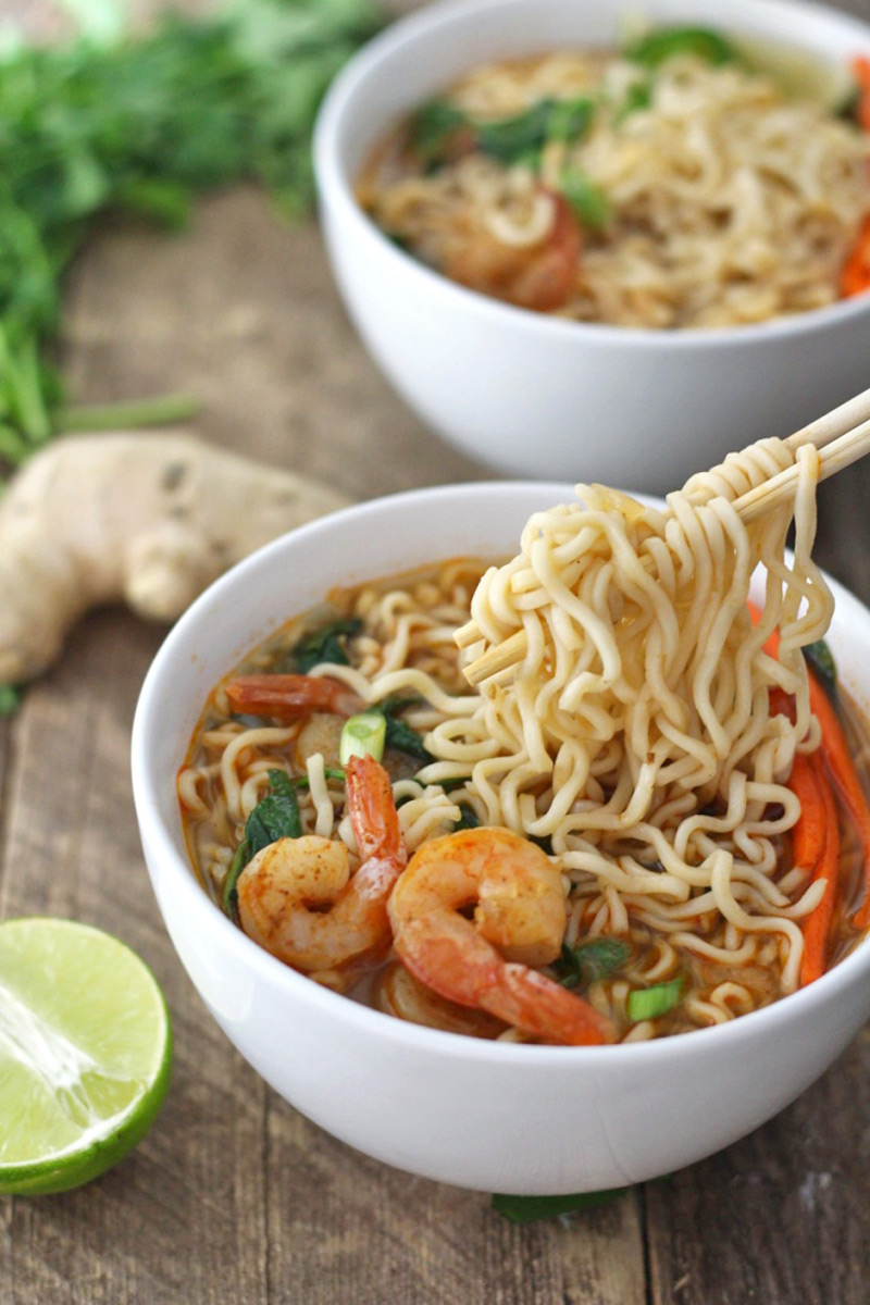 Noodle soup: tasty and satisfying 97