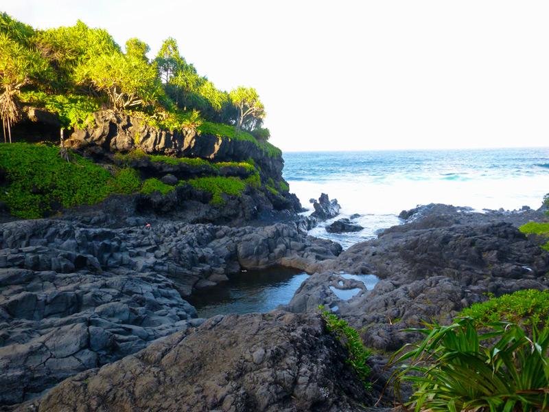 Seven Sacred Pools Maui Hawaii