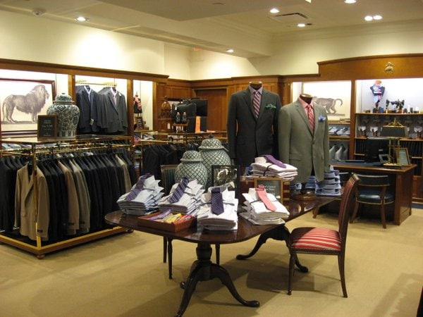Inside Brooks Brothers Georgetown Concept Store Modern