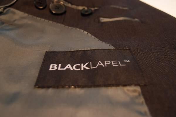 Black Lapel suit jacket