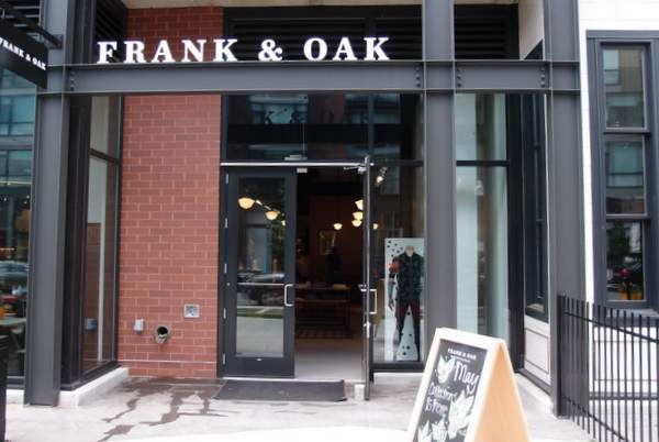 Look Inside Frank and Oak Menswear Showroom in Washington DC's Shaw
