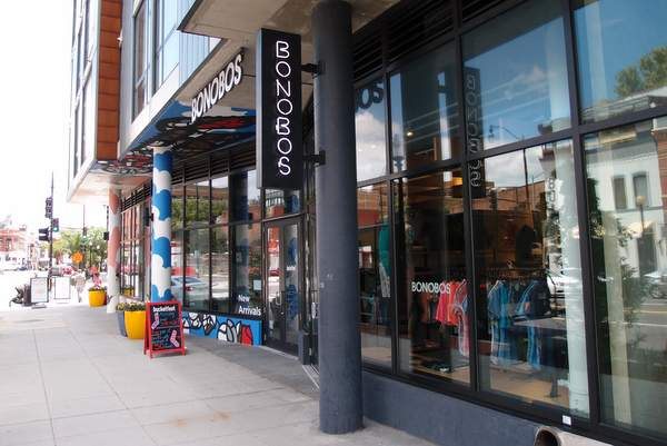 Look Inside Bonobos Guideshop in Shaw DC
