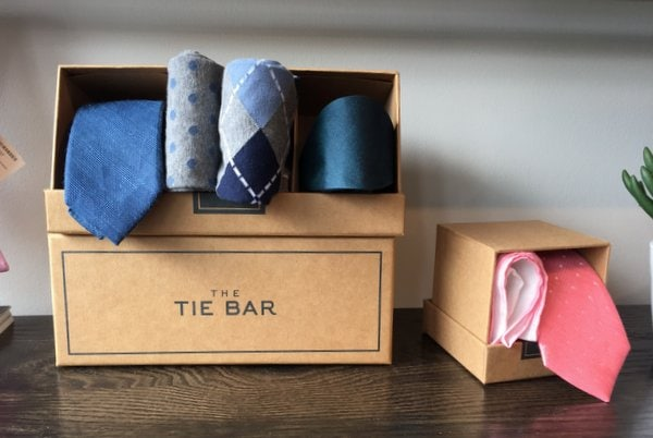 Inside The Tie Bar Store in Washington, DC