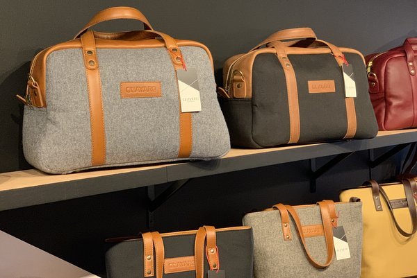 Discover DC Startup Quavaro's Leather Bags and Accessories in Eastern Market and Apple's New Carnegie Library