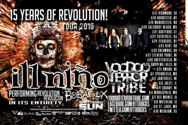 ill nino voodoo terror tribe tour