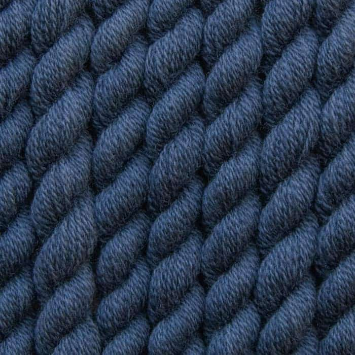 paynes grey hand dyed embroidery wool