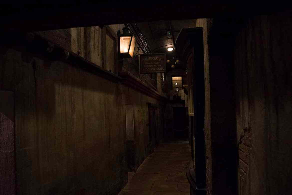 One of the alleys at York Castle Museum