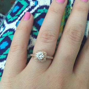 I Picked Out My Own Engagement Ring At A Pawn Shop Modern Frugality