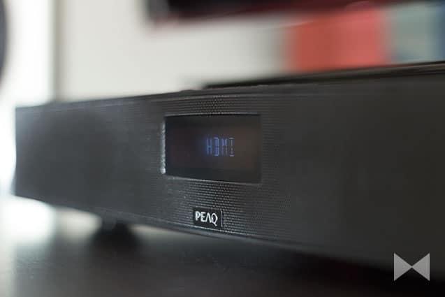 Display-Menü am Sounddeck PEAQ-PSD400BT-B