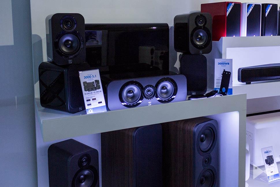 Q-Acoustics-3000-Series auf der High End 2015