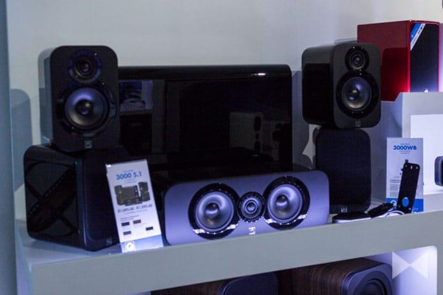 Q Acoustics 3000 Series 5.1-Surround-Lautsprecher