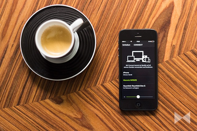 Spotify Connect mit Apple iPhone