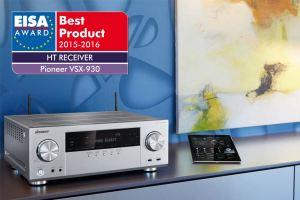 Den EISA-Award in der Kategorie Heimkino konnte Pioneer in den Kategorien AV-Receiver und Blu-ray-Player 2015 gewinnen.