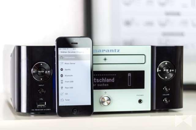 Marantz-M-CR611 Test mit Hi-Fi Remote App