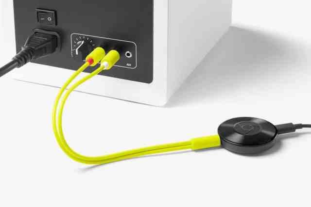 Google-Chromecast-Audio WLAN-Streaming mit Spotify für die alte Stereoanlage