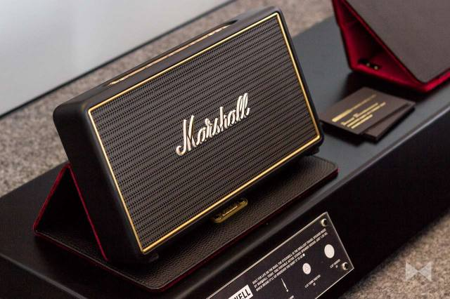 Marshall-Stockwell Bluetooth-Lautsprecher im Kompakt-Format und Flip-Cover