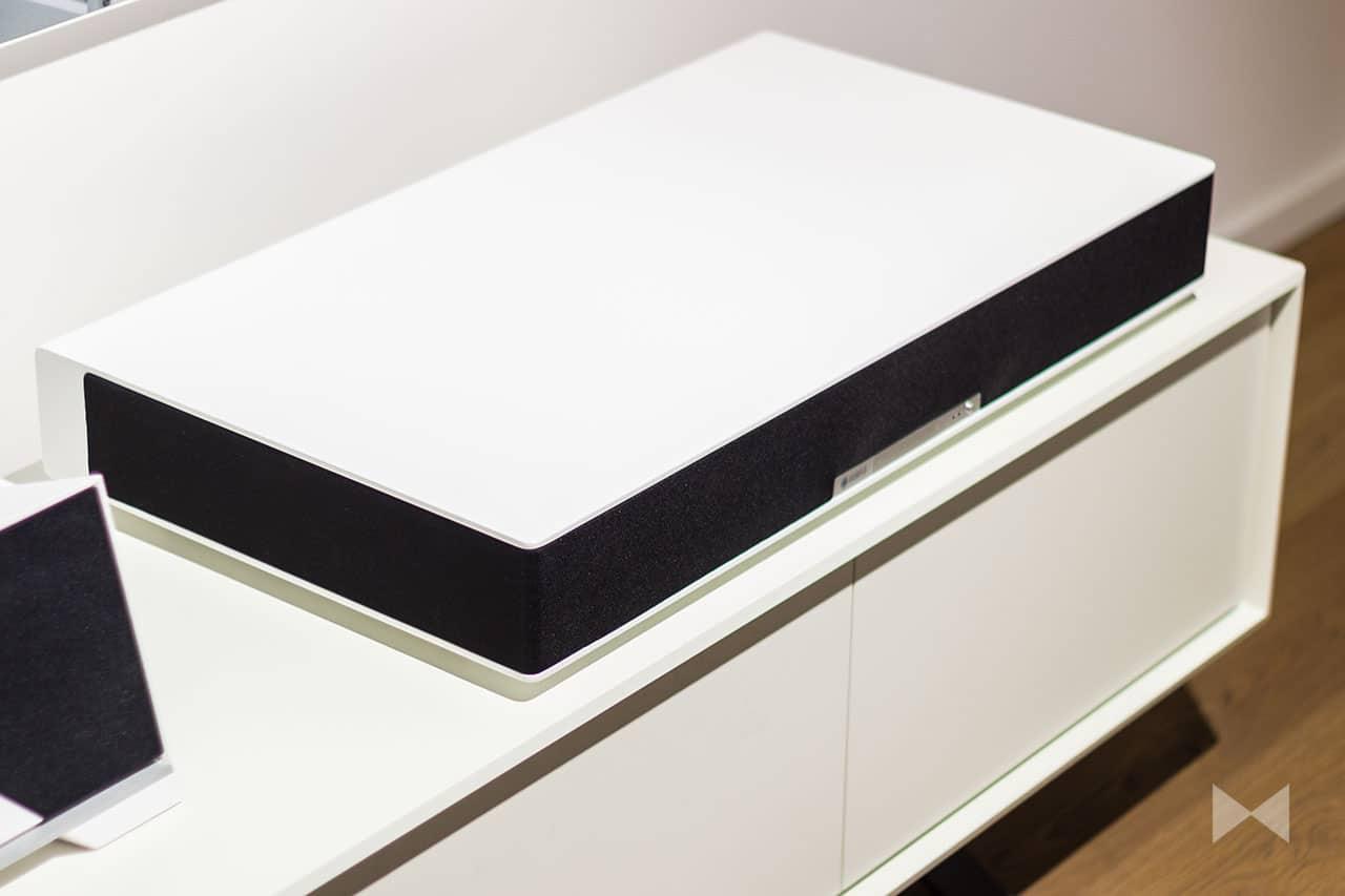 Raumfeld-Sounddeck für den Smart-TV und Streaming im Multiroom-System