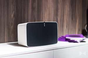 Sonos-Play-5 Wireless-Lautsprecher mit Sonos Trueplay Raumeinmessung