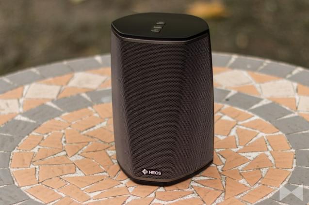 HEOS-1-GoPack mit Bluetooth, Lithium-Ionen-Akku und Splashguard