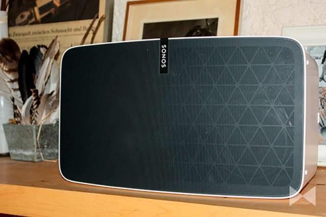 Sonos-Play-5 Test Multiroom-System-Lautsprecher mit Sonos TruePlay