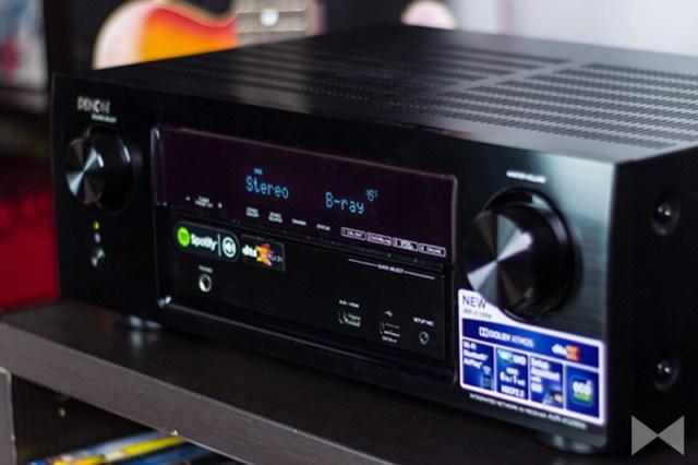 Denon-AVR-X1200W Hörtest