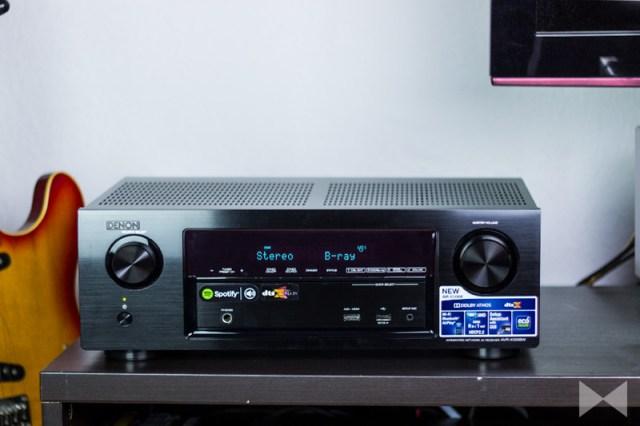 Denon-AVR-X1200W Test AVR mit 3D-Surround-Formaten