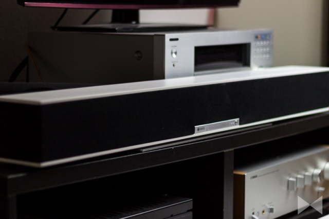 Raumfeld-Soundbar Audio-Streaming im Multiroom-System