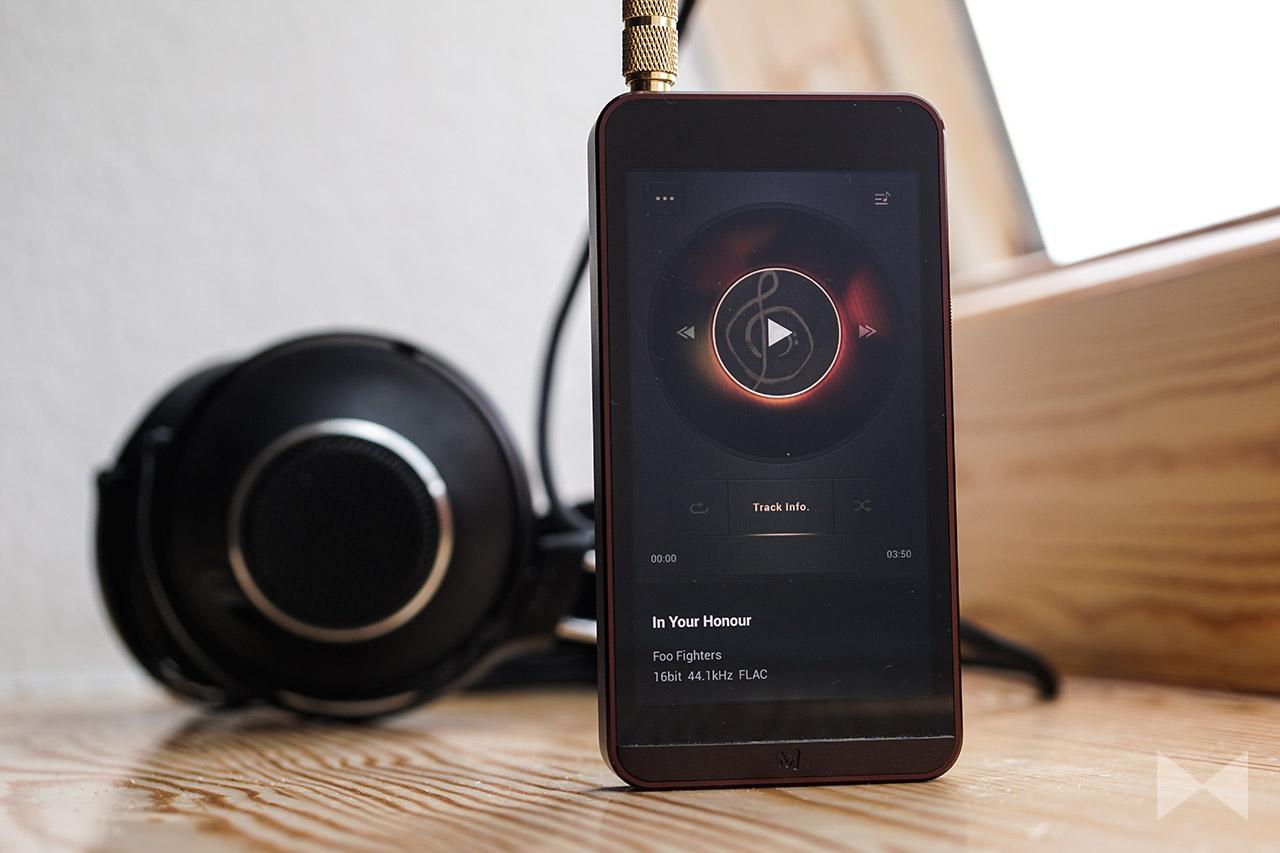 Calyx M Test Digital Audio Player