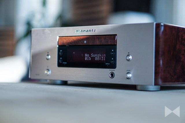 Marantz HD-CD1 mit Alu-Front