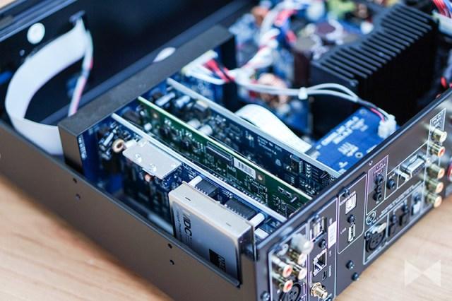 NAD C 390DD2 mit MDC-DD-BluOS-Modul
