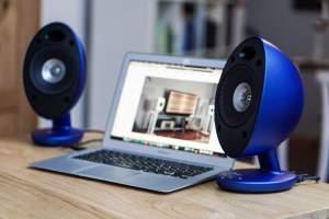 KEF Egg Bluetooth-Computer-Lautsprecher