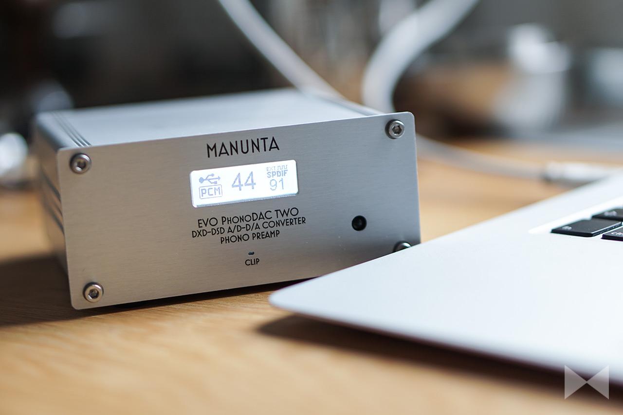 Manunta EVO PhonoDAC Two Test: A/D-D/A-Wandler