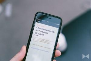 Chromecast built-in – Das kann Googles Streaming-Dienst