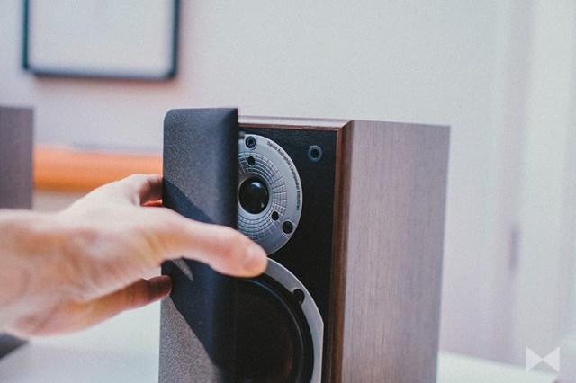 Dali Spektor 1 Abdeckung zum Schutz der Lautsprecher-Membranen