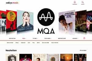 Downplattform Onkyo Music mit über 16.000 MQA-Tracks