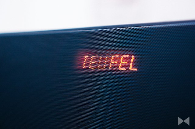 Teufel Boomster LED-Display