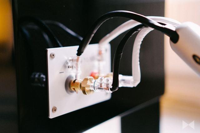 Yamaha NS-5000 Lautsprecherkabel-Terminal-Anschluss