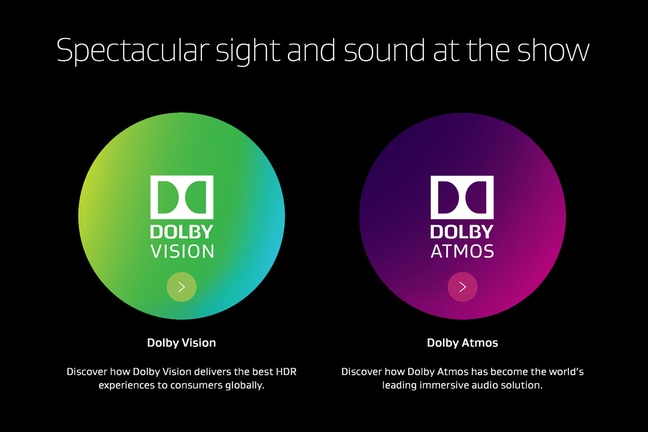 Dolby Vision und Dolby Atmos: Produkt-Highlights 2018