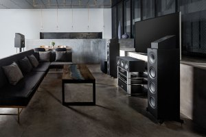 KEF Q50a Dolby-Atmos-Lautsprecher für Heimkino in 3D