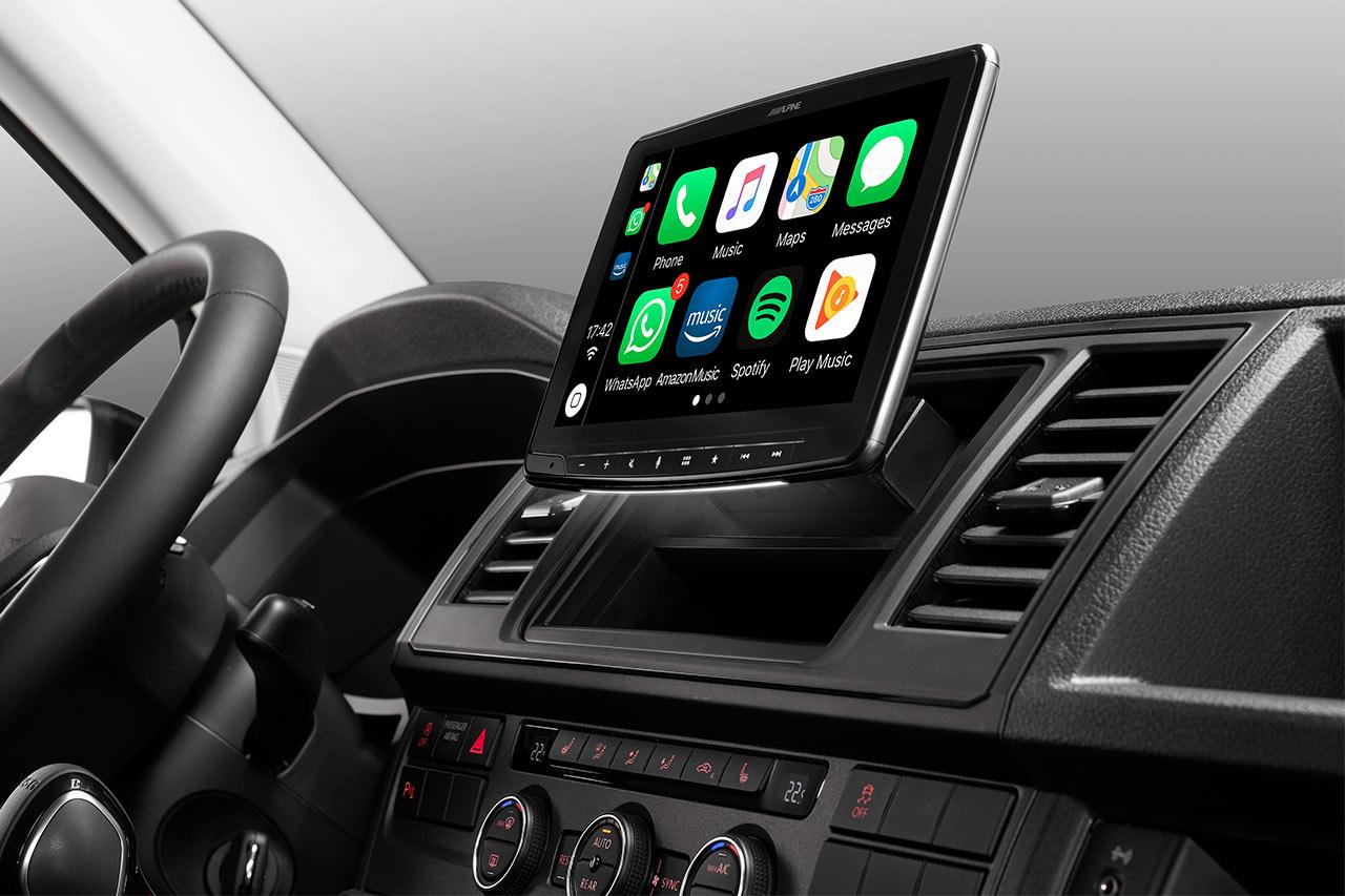 Alpine iLX-F903D: Apple CarPlay und Android Auto zum Nachrüsten