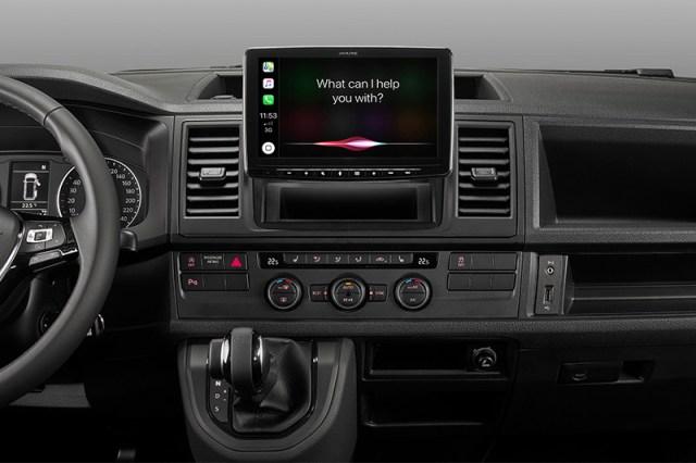Alpine iLX-F903D Infotainment im Auto